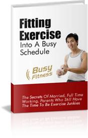 Fitting Exercise into a Busy Schedule | eBooks | Health