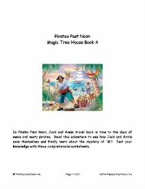 MTH04 Pirates Past Noon Reading Comprehension Worksheets | eBooks | Education
