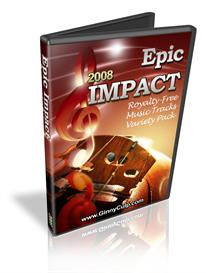 Epic Impact 2008 Virginia Culp Royalty Free Music clips from Ginny | Music | Backing tracks