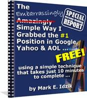 ebook # 1 position on Google, Yahoo and AOL Search Engine E-BOOK | eBooks | Internet