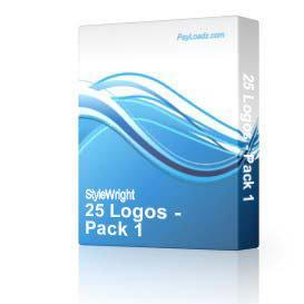 25 Logos - Pack #1 | Software | Design Templates