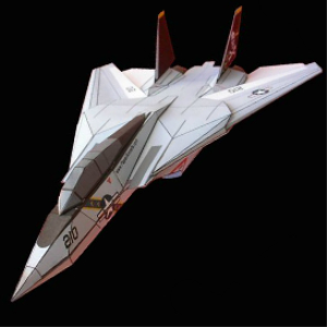 paper f-14 jolly rogers