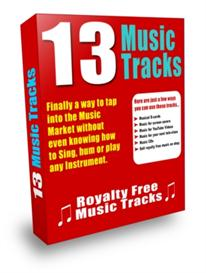 Royalty Free Music 13 Tracks with Resale Rights | Music | Backing tracks