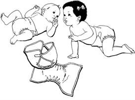 Huggy Style Diaper Pattern | eBooks | Arts and Crafts