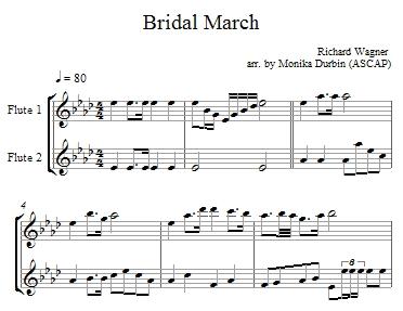Wedding Music For 2 Flutes Flute Duet