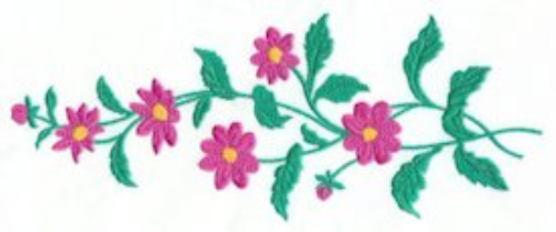 Third Additional product image for - Floral Parade Collection DST