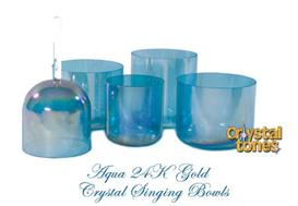 crystal bowl selections: aqua gold (c) singing bowl by jay schwed