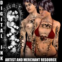 Digital Ink - SKULLS Tattoo Resource | Software | Design