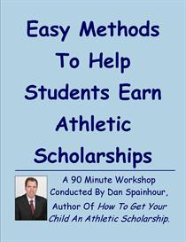 easy methods to help students earn athletic scholarships