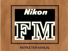 Nikon FM Instruction Manual | Other Files | Photography and Images