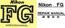 Nikon FG Repair Manual & Instruction Manuals | Other Files | Photography and Images