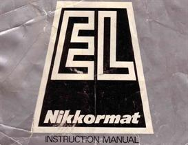 Nikon Nikkormat EL Instruction Manual | Other Files | Photography and Images