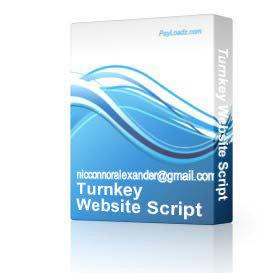 turnkey website script