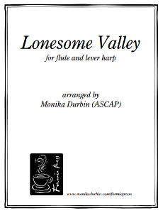 Lonesome Valley for Flute & Harp | eBooks | Sheet Music
