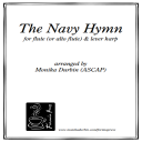 The Navy Hymn for Flute (or Alto Flute) & Harp | eBooks | Sheet Music