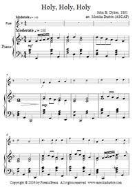 Holy, Holy, Holy for Flute & Piano - Sheet Music | eBooks | Sheet Music