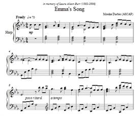 Emma's Song - Harp Solo - Sheet Music | eBooks | Sheet Music