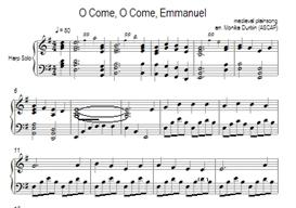 O Come, O Come, Emmanuel - Harp Solo | eBooks | Sheet Music
