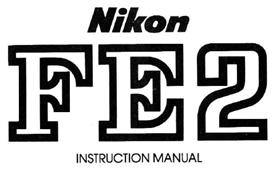 Nikon FE2 Instruction Manual | Other Files | Photography and Images
