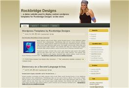 Wordpress Rockbridge Basic Template