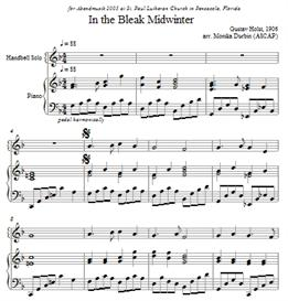 In the Bleak Midwinter for Handbell Solo - Sheet Music | eBooks | Sheet Music