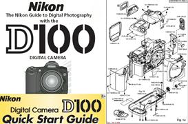 Nikon D100 Instruction Manual, Quick Start Guide & Parts Diagrams | Other Files | Photography and Images