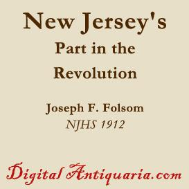 new jersey's part in the revolution