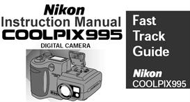 Nikon Coolpix 995 Instruction Manual & Quick Start Guide | Other Files | Photography and Images