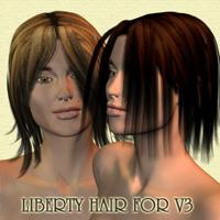 Liberty Hair For V3 | Software | Design