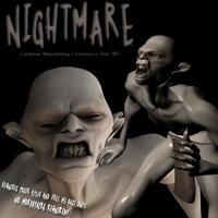 nightmare custom morphing creatures for m3