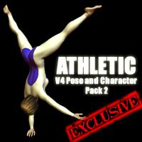 Athletic V4 Pose and Character Pack 2 | Software | Design