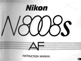 Nikon N8008s F801s Instruction Manual | Other Files | Photography and Images