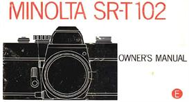 Minolta SR-T102 35mm Camera Instruction Manual | Other Files | Photography and Images