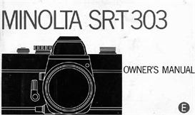 Minolta SR-T303 35mm Camera Instruction Manual | Other Files | Photography and Images