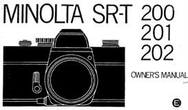 Minolta SR-T200 SR-T201 SR-T202 Instruction Manual - 3 MANUALS IN ONE | Other Files | Photography and Images