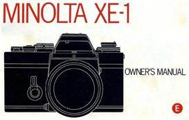Minolta XE-1 XE1 Instruction Manual | Other Files | Photography and Images