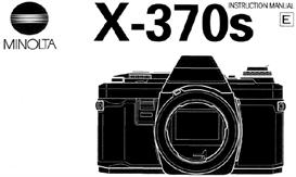 Minolta X-370 X-370s 35mm Camera Instruction Manual X370 X370s | Other Files | Photography and Images