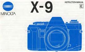 Minolta X-9 X9 35mm Camera Instruction Manual X370 X370s | Other Files | Photography and Images