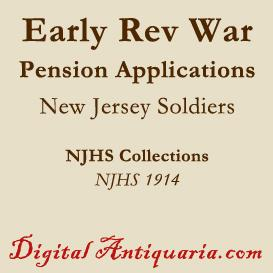 Some Early Pension Applications | eBooks | History