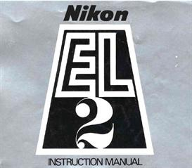 Nikon EL2 Instruction Manual | Other Files | Arts and Crafts