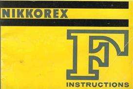 Nikon Nikkorex F Instruction Manual | Other Files | Photography and Images