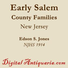 Early Salem County Families | eBooks | History