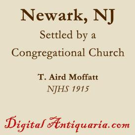 Newark Settled by a Congregational Church | eBooks | History