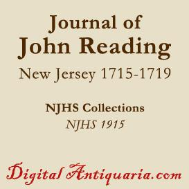 Journal of John Reading | eBooks | History