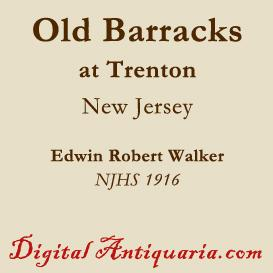 the old barracks at trenton (new jersey)