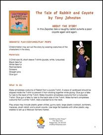 The Tale of Rabbit and Coyote Thematic Unit   Other Files   Patterns and Templates
