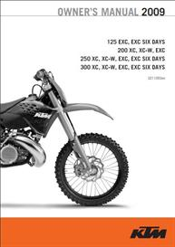 2003-2004 KTM 450 & 525 EXC Racing Owners Manual | eBooks | Technical