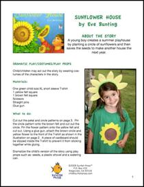 Sunflower House Thematic Unit | Other Files | Patterns and Templates