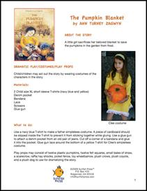 Pumpkin Blanket Thematic Unit | Other Files | Patterns and Templates