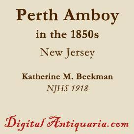 Perth Amboy in the 1850s | eBooks | History